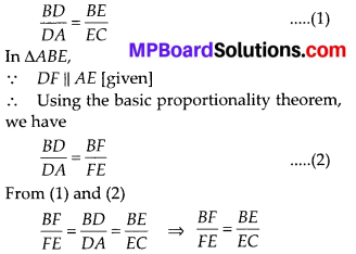 MP Board Class 10th Maths Solutions Chapter 6 Triangles Ex 6.2 10