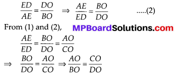 MP Board Class 10th Maths Solutions Chapter 6 Triangles Ex 6.2 19