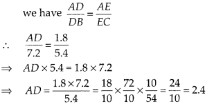 MP Board Class 10th Maths Solutions Chapter 6 Triangles Ex 6.2 2