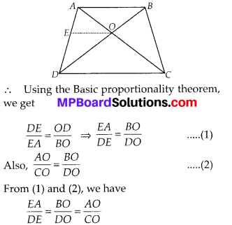 MP Board Class 10th Maths Solutions Chapter 6 Triangles Ex 6.2 20