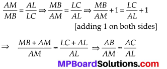 MP Board Class 10th Maths Solutions Chapter 6 Triangles Ex 6.2 7