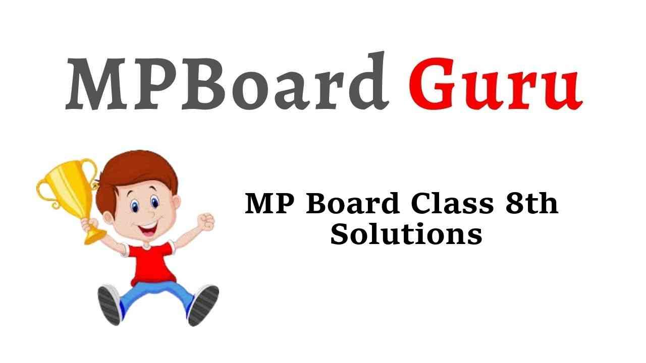 MP Board Class 8th Solutions
