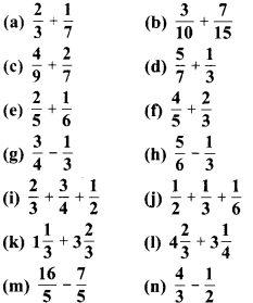 MP Board Class 6th Maths Solutions Chapter 7 भिन्न Ex 7.6