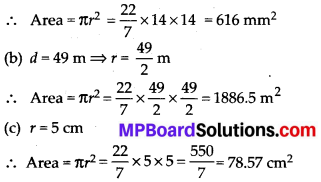 MP Board Class 7th Maths Solutions Chapter 11 Perimeter and Area Ex 11.3 1