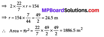 MP Board Class 7th Maths Solutions Chapter 11 Perimeter and Area Ex 11.3 2