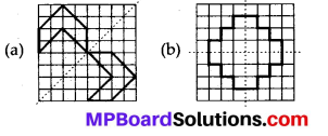MP Board Class 7th Maths Solutions Chapter 14 Symmetry Ex 14.1 28