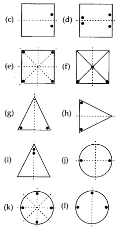 MP Board Class 7th Maths Solutions Chapter 14 Symmetry Ex 14.1 3