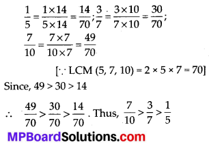 MP Board Class 7th Maths Solutions Chapter 2 Fractions and Decimals Ex 2.1 5