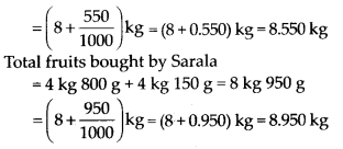 MP Board Class 7th Maths Solutions Chapter 2 Fractions and Decimals Ex 2.5 17
