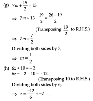 MP Board Class 7th Maths Solutions Chapter 4 Simple Equations Ex 4.3 3