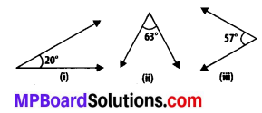 MP Board Class 7th Maths Solutions Chapter 5 Lines and Angles Ex 5.1 1