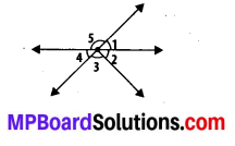 MP Board Class 7th Maths Solutions Chapter 5 Lines and Angles Ex 5.1 5