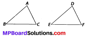 MP Board Class 7th Maths Solutions Chapter 7 Congruence of Triangles Ex 7.2 1