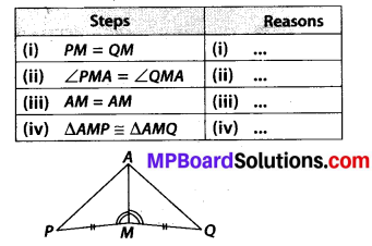 MP Board Class 7th Maths Solutions Chapter 7 Congruence of Triangles Ex 7.2 6