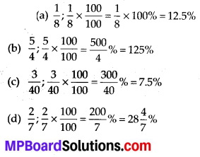 MP Board Class 7th Maths Solutions Chapter 8 Comparing Quantities Ex 8.2 2