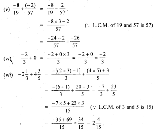 MP Board Class 7th Maths Solutions Chapter 9 Rational Numbers Ex 9.2 4