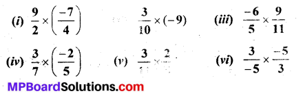 MP Board Class 7th Maths Solutions Chapter 9 Rational Numbers Ex 9.2 8