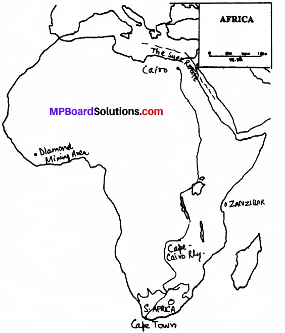 MP Board Class 7th Social Science Solutions Chapter 33 Africa Economic Development-1