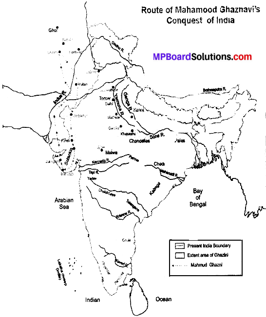 MP Board Class 9th Social Science Solutions Chapter 10 Medieval India - 1