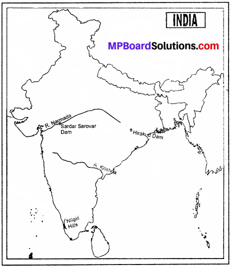 MP Board Class 9th Social Science Solutions Chapter 4 India Drainage System - 1