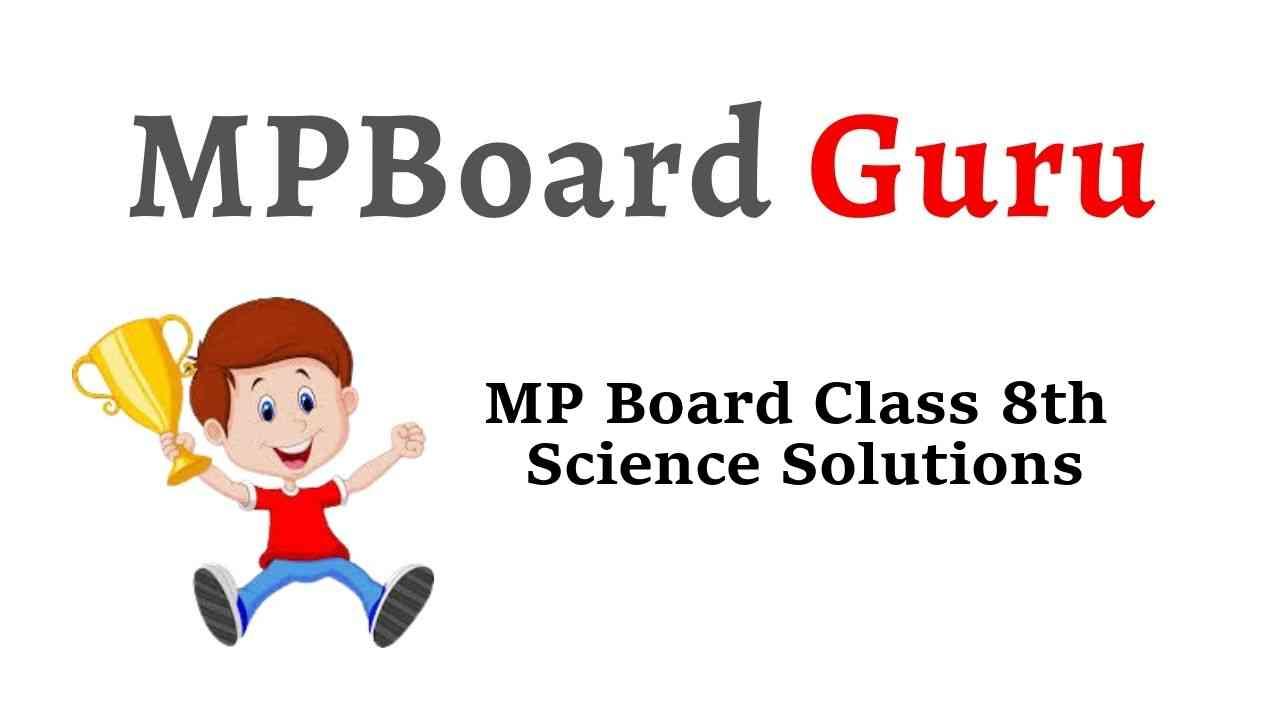 MP Board Class 8th Science Solutions विज्ञान