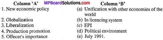 MP Board Class 12th Business Studies Important Questions Chapter 3 Management and Business Environment image - 1