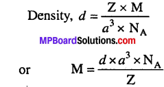 MP-Board-Class-12th-Chemistry-Solutions-Chapter-1-The-Solid-State-9