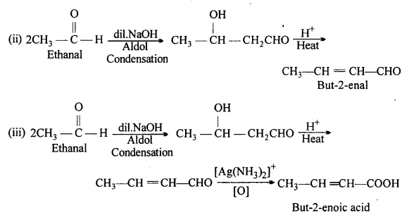 MP Board Class 12th Chemistry Solutions Chapter 12 Aldehydes, Ketones and Carboxylic Acids 40