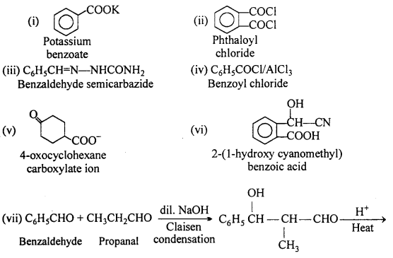 MP Board Class 12th Chemistry Solutions Chapter 12 Aldehydes, Ketones and Carboxylic Acids 54