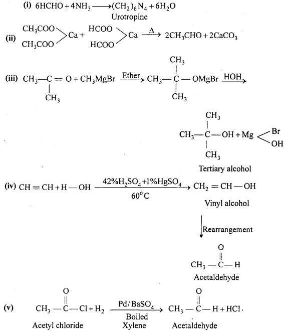 MP Board Class 12th Chemistry Solutions Chapter 12 Aldehydes, Ketones and Carboxylic Acids 90