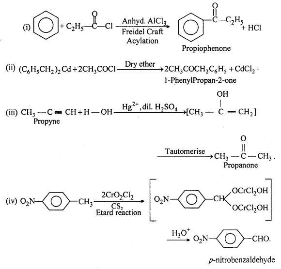 MP Board Class 12th Chemistry Solutions Chapter 12 aldehydes, ketones and carboxylic acids 4