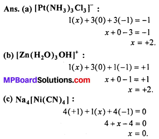 MP Board Class 12th Chemistry Solutions Chapter 9 Coordination Compounds 60