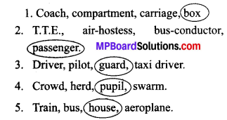 Mp Board Class 7 English Solutions