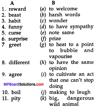 Mp Board Class 7th English Chapter 13