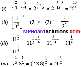 MP Board Class 9th Maths Solutions Chapter 1 Number Systems Ex 1.6 img-2