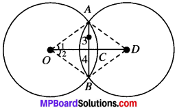 MP Board Class 9th Maths Solutions Chapter 10 Circles Ex 10.3 img-3