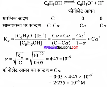 MP Board Class 11th Chemistry Solutions Chapter 7 साम्यावस्था - 32