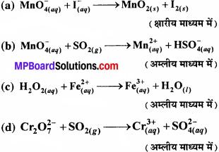 MP Board Class 11th Chemistry Solutions Chapter 8 अपचयोपचय अभिक्रियाएँ - 75