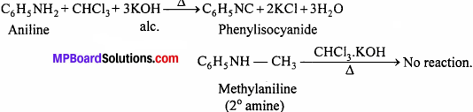 MP Board Class 12th Chemistry Solutions Chapter 13 Amines - 13