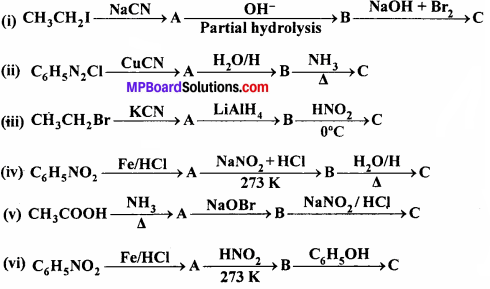 MP Board Class 12th Chemistry Solutions Chapter 13 Amines - 29
