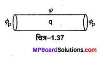 MP Board Class 12th Physics Important Questions Chapter 1 वैद्युत आवेश तथा क्षेत्र 24