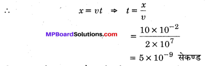 MP Board Class 12th Physics Important Questions Chapter 1 वैद्युत आवेश तथा क्षेत्र 72