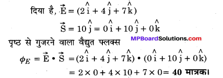 MP Board Class 12th Physics Important Questions Chapter 1 वैद्युत आवेश तथा क्षेत्र 88
