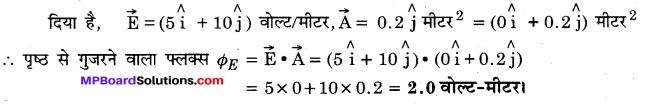 MP Board Class 12th Physics Important Questions Chapter 1 वैद्युत आवेश तथा क्षेत्र 89