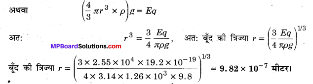MP Board Class 12th Physics Important Questions Chapter 1 वैद्युत आवेश तथा क्षेत्र 97