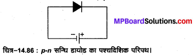 MP Board Class 12th Physics Important Questions Chapter 14 अर्द्धचालक इलेक्ट्रॉनिकी पदार्थ युक्तियाँ तथा सरल परिपथ 75