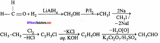 MP Board Class 12th Chemistry Important Questions Chapter 12 Aldehydes, Ketones and Carboxylic Acids 10
