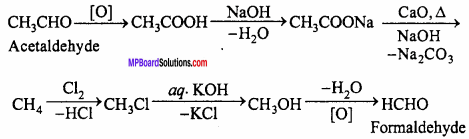 MP Board Class 12th Chemistry Important Questions Chapter 12 Aldehydes, Ketones and Carboxylic Acids 11