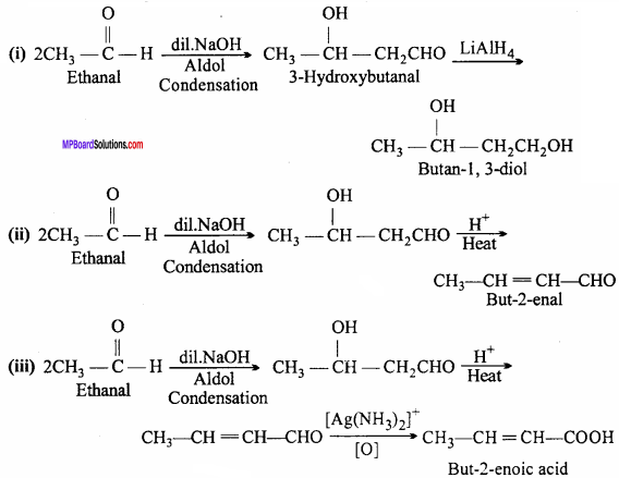 MP Board Class 12th Chemistry Important Questions Chapter 12 Aldehydes, Ketones and Carboxylic Acids 33