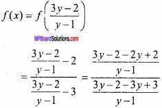 MP Board Class 12th Maths Important Questions Chapter 1 Relations and Functions